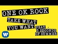 Download Lagu ONE OK ROCK: Take What You Want ft. 5 Seconds Of Summer LYRIC VIDEO.mp3