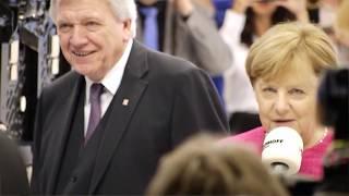 Angela Merkel besucht den KIRCHHOFF Automotive Stand, IAA 2017
