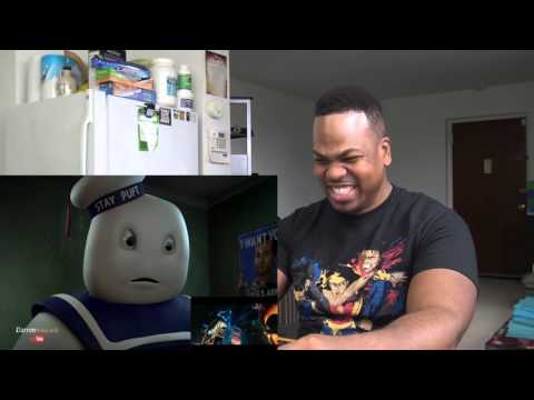 Marshmallow Man Reacts to GHOSTBUSTERS Trailer REACTION!!!