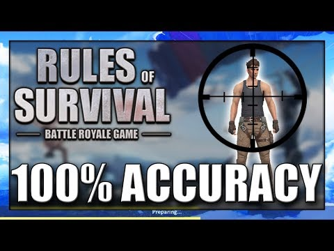 How To AIM BETTER IN Rules Of Survival | Improve Your Accuracy In ROS