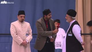 Impressions and interviews from distinguished  Jalsa guests Part 1/2 - Jalsa Salana Germany 2013
