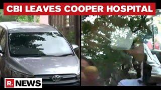 Sushant Death Case: CBI Team Leaves Cooper Hospital