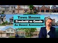 Townhouse vs Condo Townhome an Honest Comparison | How to Buy a House | Town House vs Row House
