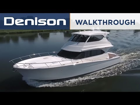 Maritimo M52 Motoryacht Walkthrough
