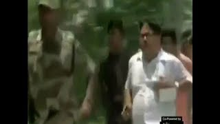West Bengal: BJP candidate Arjun Singh chases locals, TMC supporters
