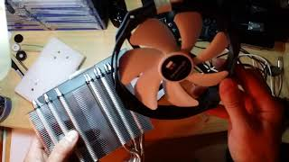 распаковка кулера для процессора Thermalright True Spirit 140 Power
