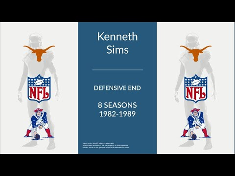 Kenneth Sims: Football Defensive End
