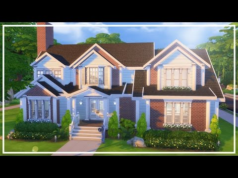 HUNTLEY HOUSE // The Sims 4: Speed Build