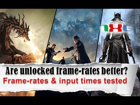 Are unlocked framerates always better? Frame-rates & input times tested