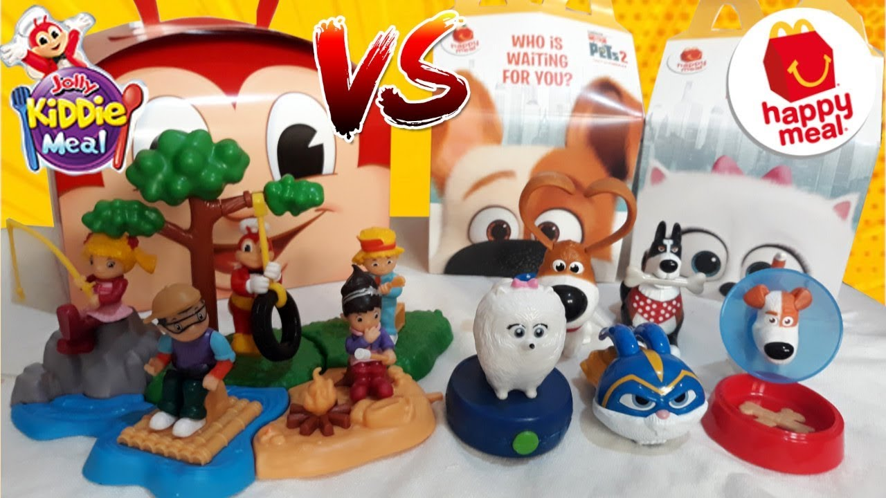 June 2019 Jollibee Kiddie Meal Vs Mcdonald S Happy Meal