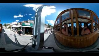 Port de Soller - Mallorca - Spain - 360 Video - Wooden Train