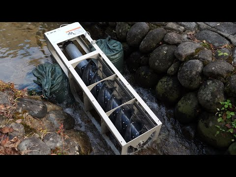Ultra-Small Water Power Generator