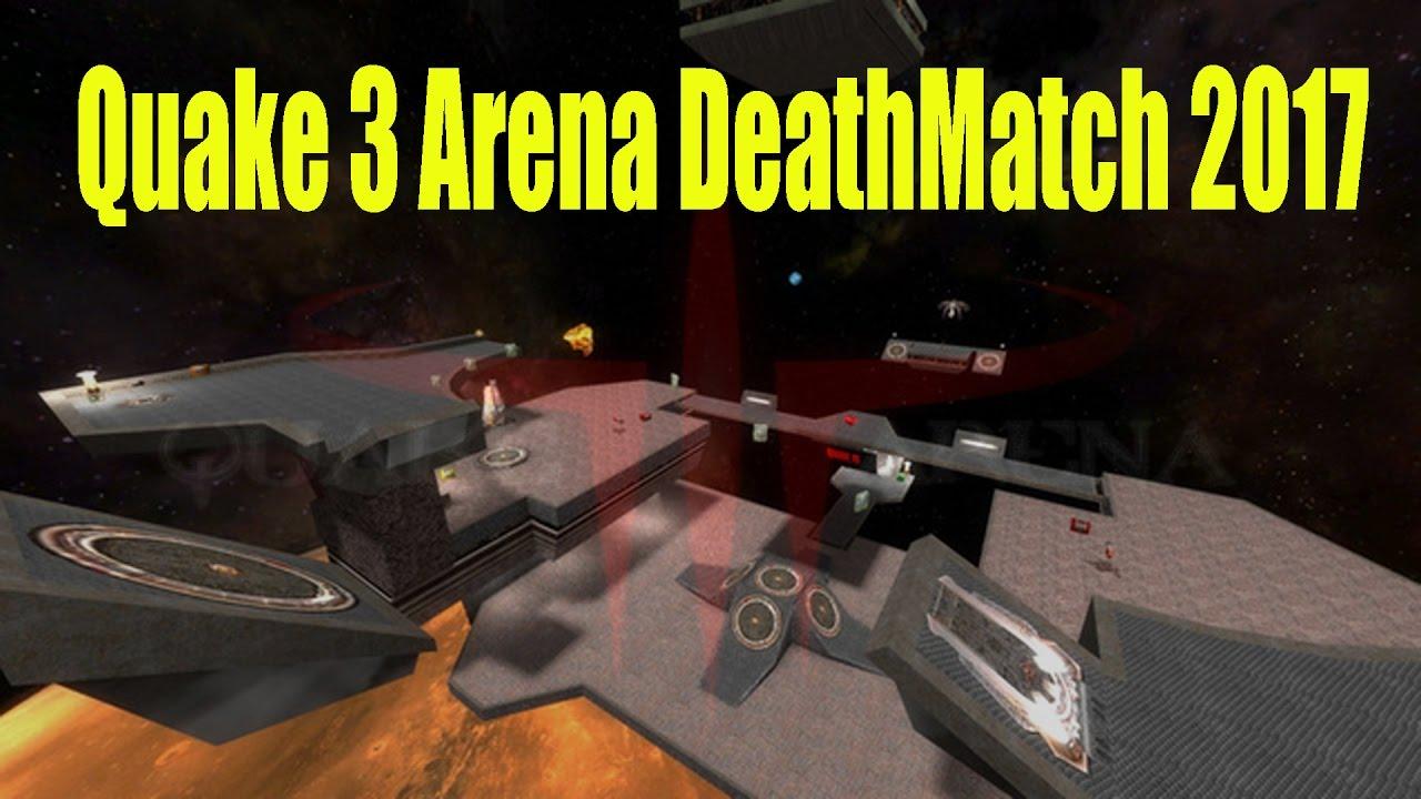 Quake 3 Arena Gameplay Deathmatch Best FPS Game Ever 2017