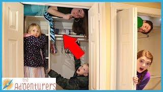 SARDiNES Hide And Seek - Audrey's Secret Hiding Spot!  / That YouTub3 Family I Family Channel