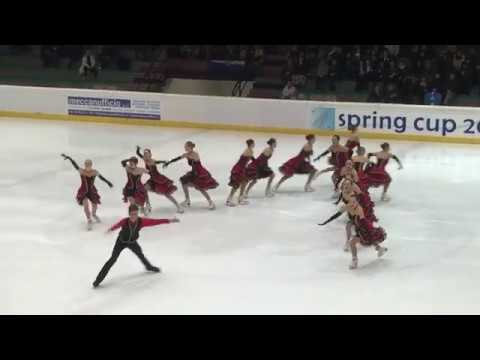 Team Berlin 1   GER   Spring Cup 2018   Senior SP