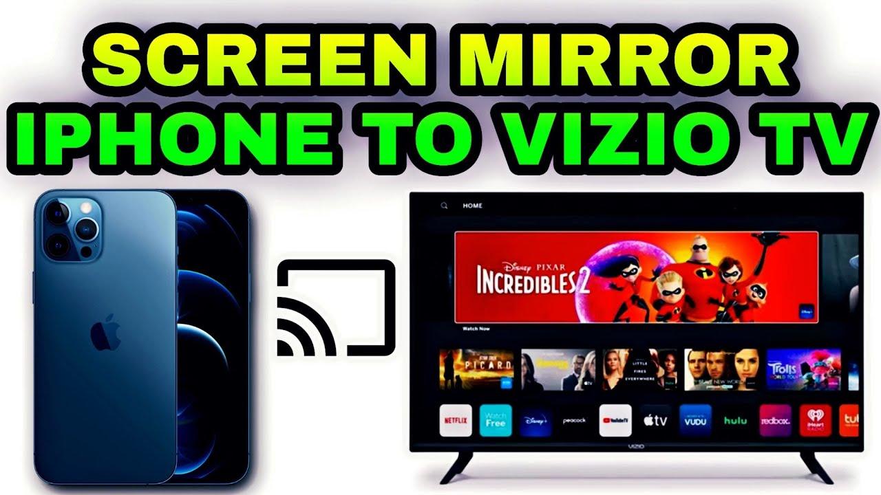 How to Cast/Screen Mirror iPhone to Vizio TV Vizio D- Series Apple  Airplay & Homekit