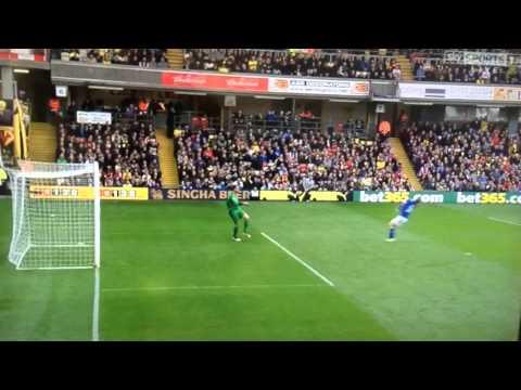 Chris Woods wonder goal for Leicester