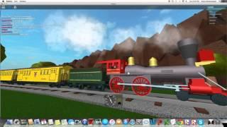 Trains de l'Ouest Roblox