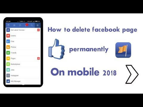 How To Delete Facebook Page Permanently On Phone 3 Easy Ways