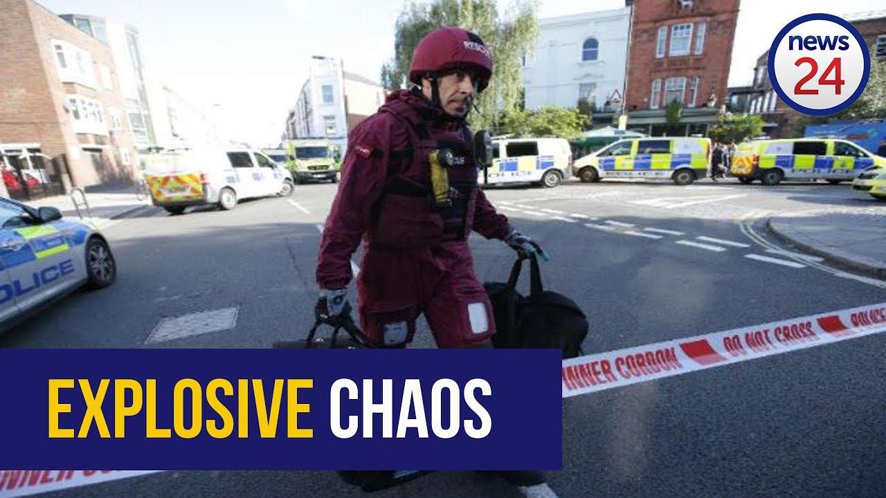 WATCH: Scenes from London terror train explosion deemed 'terror incident'
