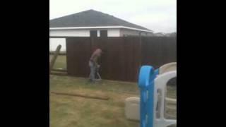 6' Cedar Wood Fence
