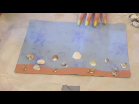 Kids Seashell Crafts Arts Crafts Youtube