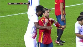 Sergio Ramos vs Costa Rica (Home) Friendly (11/11/2017) 1080i HD