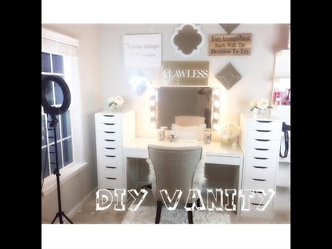 Office Beauty Room Series Diy Vanity Doovi