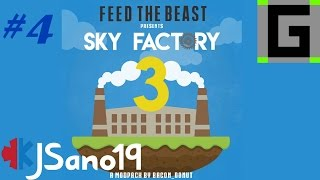 Modded Minecraft - Sky Factory 3 (Guano) - Ep. 4 - Manual Automation
