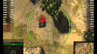 World of Tanks- Su 14 gameplay,steppes (4kills,Kamikaze)