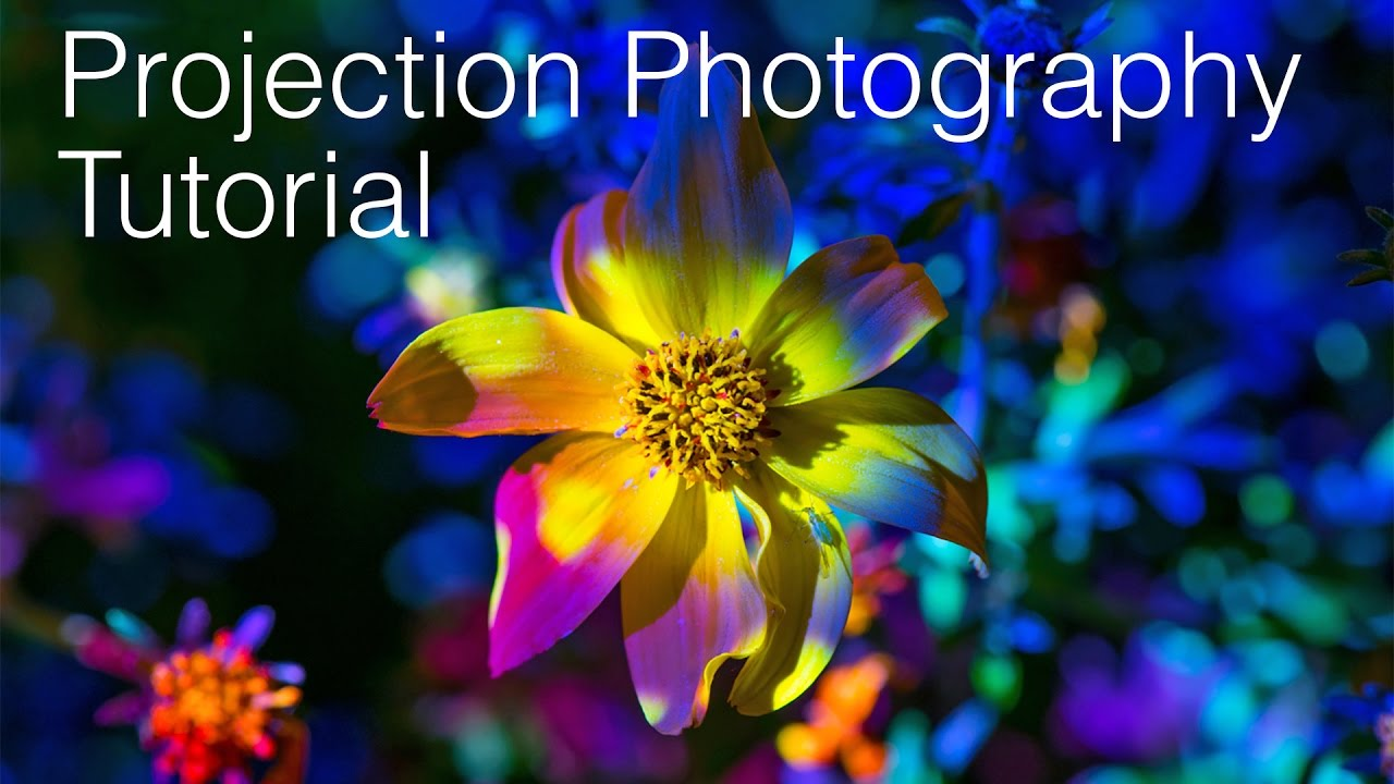 how to create projection photography