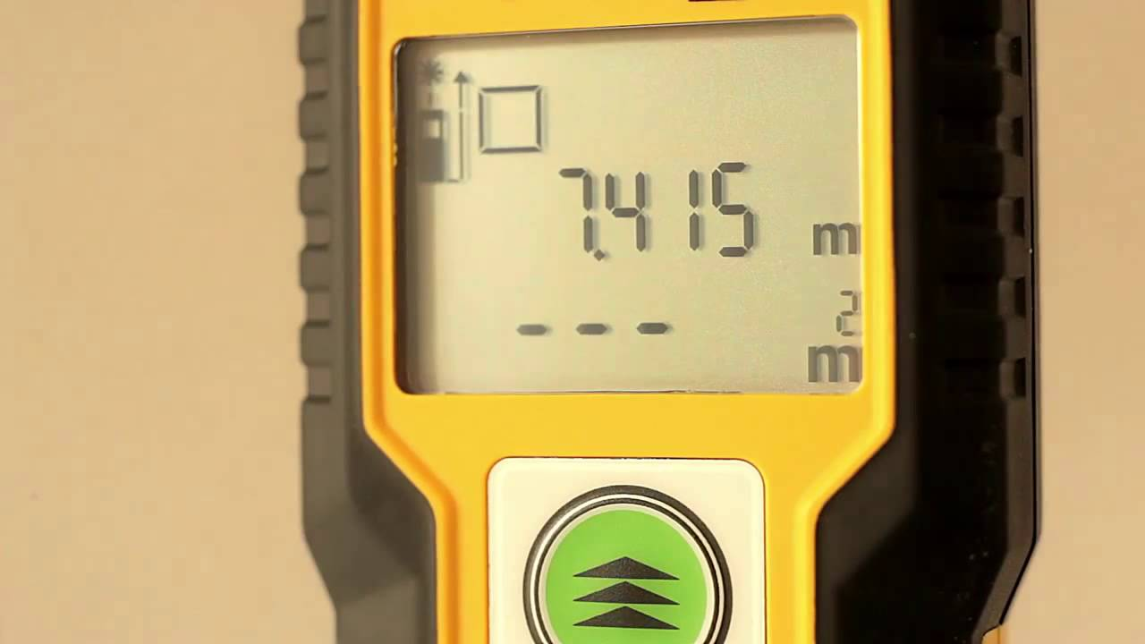 Hilti Entfernungsmesser Xl : Stabila laser entfernungsmesser ld youtube