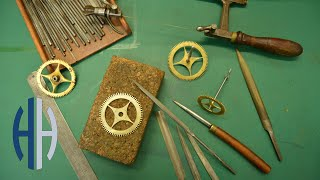 Making a Clock Wheel for an Antique Clock - Start to Finish!
