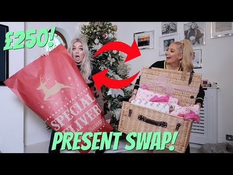 £250 PRESENT EXCHANGE SWAP w MY BEST FRIEND!! ft Anastasia Kingsnorth