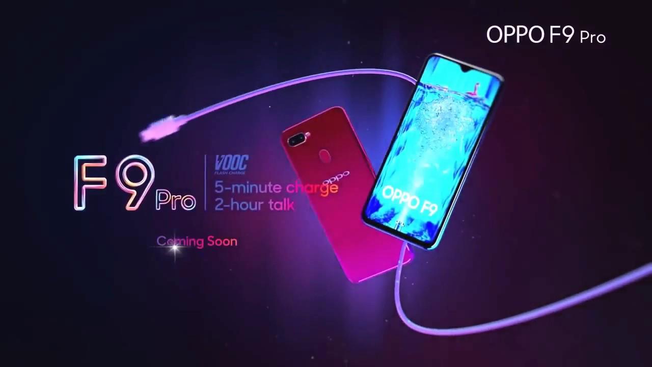 Oppo F9 Pro (Sunrise Red)