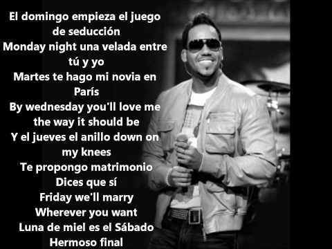 Romeo Santos - 7 Días (Letra/Lyrics)
