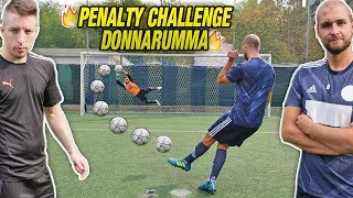 Penalty challenge - il nostro donnarumma insuperabile