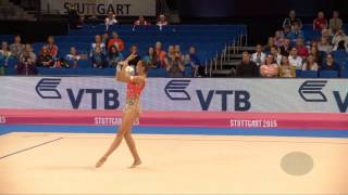 Mamun Margarita (rus) – 2015 Rhythmic Worlds, Stuttgart (ger), Qualifications Ball