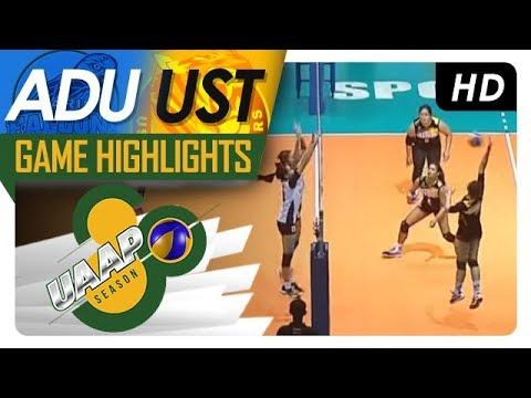 UAAP 80 WV: AdU vs. UST | Game Highlights | April 14, 2018