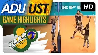 UAAP 80 WV: AdU vs. UST | Game Highlights | April 14, 2018