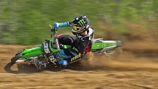 """""""Ripping the 125"""" ft Joey Crown on the KX125 at Baja Acres MX"""