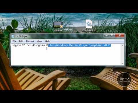 How To Enable Windows Media Player 12 Taskbar Toolbar In Windows 7 by Britec