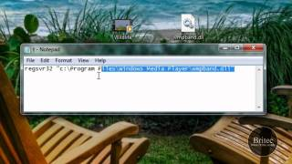 How To Enable Windows Media Player 12 Taskbar Toolbar In Windows 7 by Britec
