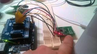 NFC ISO 15693 with intel galileo using BM019