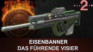 """Destiny 2: Eisenbanner Scoutgewehr Review """"Das Führende Visier"""" (Deutsch/German)"""