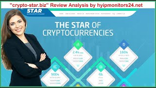 """crypto-star.biz"" Review Analysis by hyipmonitors24.net"