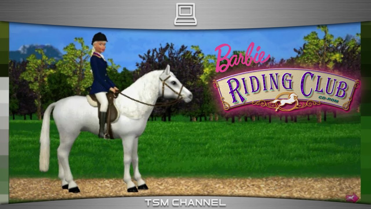 Barbie Riding Club  part 1   Horse Game    YouTube Barbie Riding Club  part 1   Horse Game