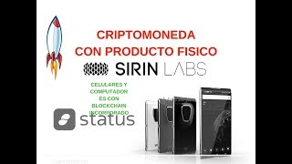 SIRIN LABS token (SRN) no compres sin ver este vídeo.