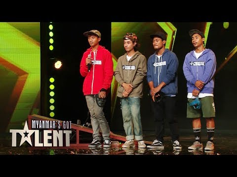 BSM BMX Team: Auditions | Myanmar's Got Talent 2018 thumbnail