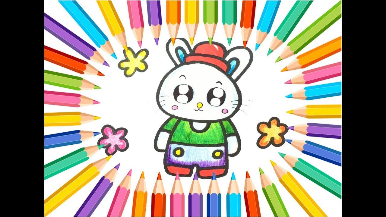 Kelinci Belajar Menggambar Untuk Anak